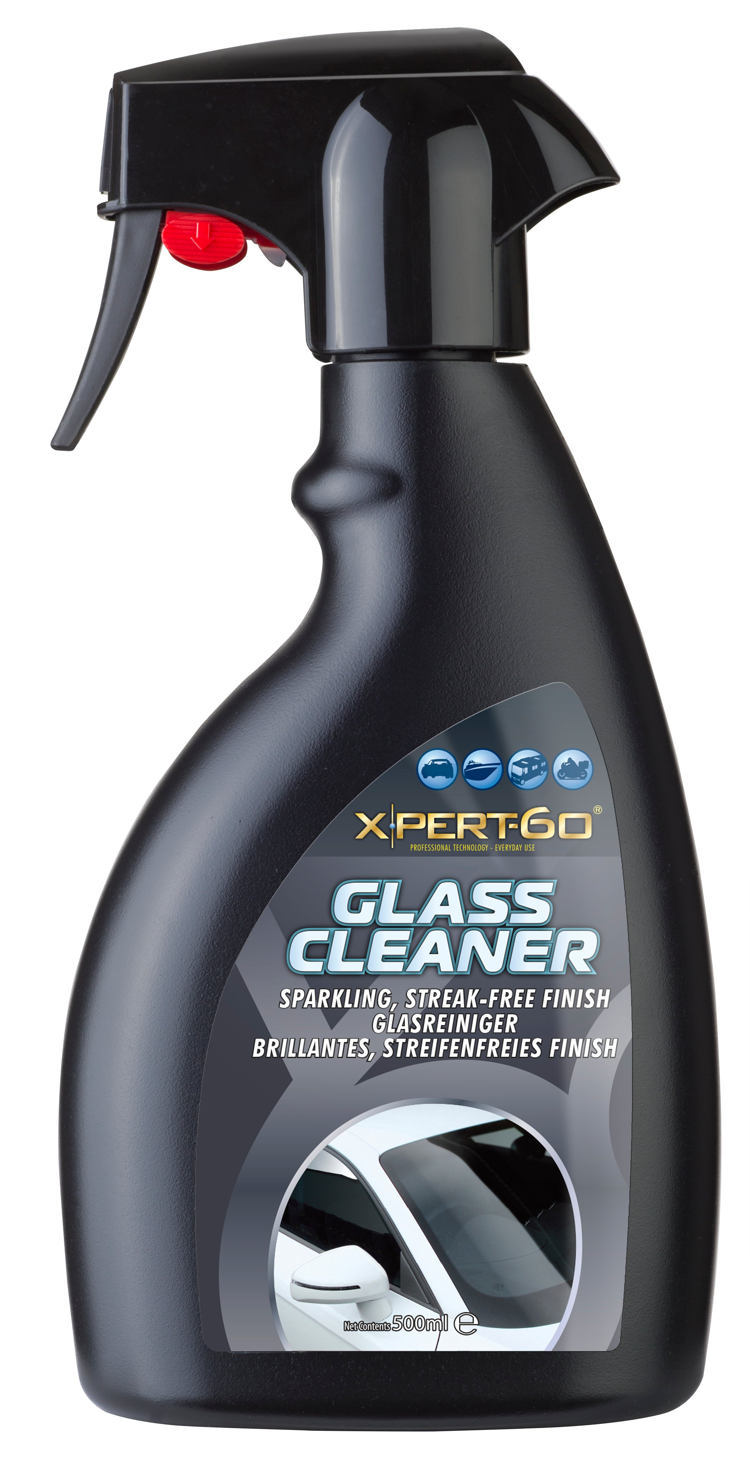 Xpert-60  500ml triggers Glass Cleaner