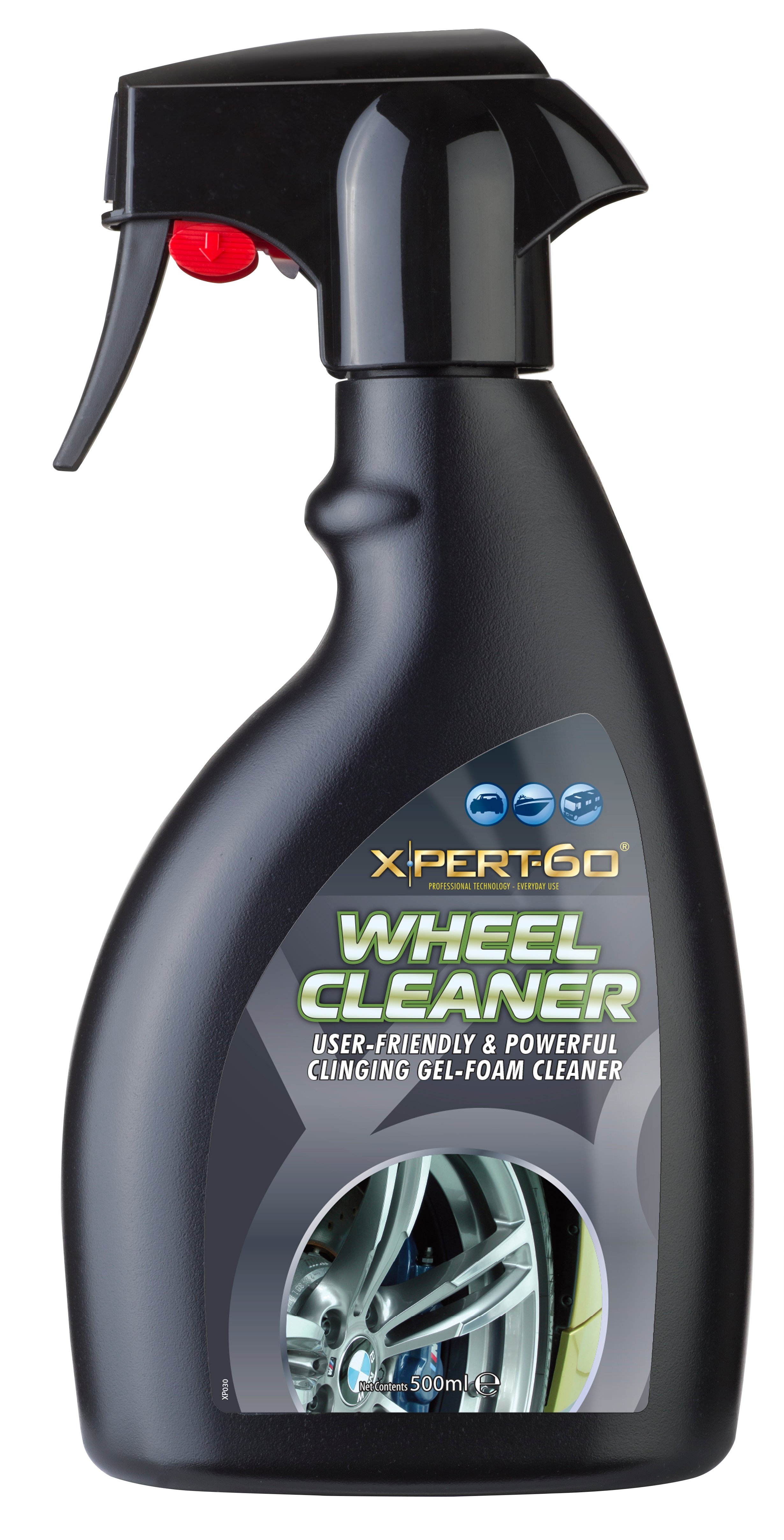 Xpert-60  500ml triggers Wheel Cleaner